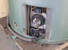 Asbestos Millboard inside HWS