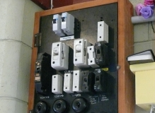 Asbestos based resin Electrical fuse board