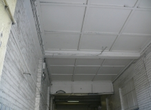 Asbestos cement Sheet ceiling