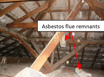 Asbestos-inside your home