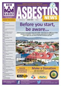 Front page of GARDS June 2021 newsletter